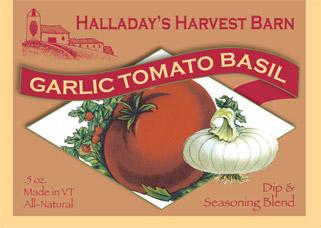 Garlic Tomato Basil Dip